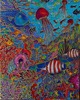 Painting - Sea World by Rae Chichilnitsky