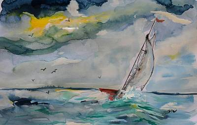 Painting - Sea You Soon by Susan Snow Voidets