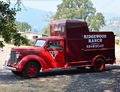 Seabiscuit Photograph - Seabiscuit's Truck by Josephine Buschman