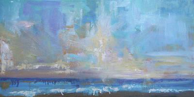 Painting - Seaburst by Julie Brayton