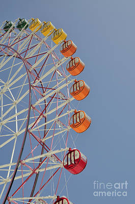 Japan Town Photograph - Seacle Ferris Wheel by Andy Smy