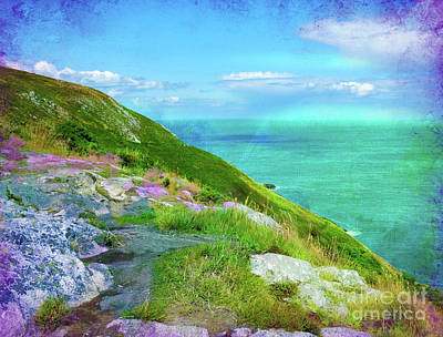 Photograph - Seacoast At Howth by Judi Bagwell