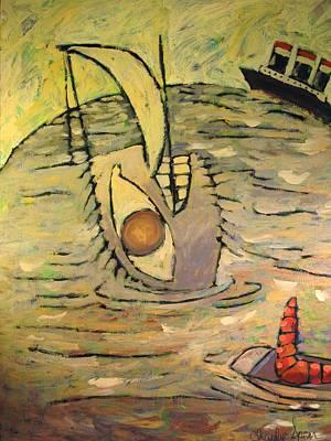 Seadrift Print by Charlie Spear