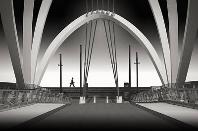 Melbourne Photograph - Seafarers Bridge by Adrian Donoghue