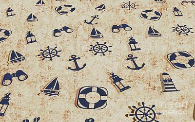 Seafaring Antiques Art Print