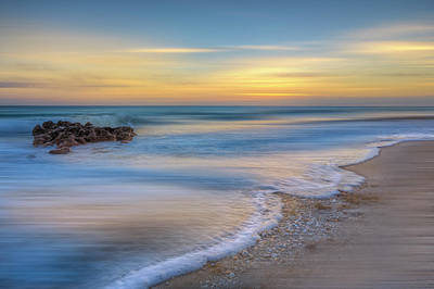 Photograph - Seafoam Dreamscape by Debra and Dave Vanderlaan