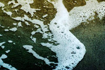 Photograph - Seafoam by Ellen Heaverlo