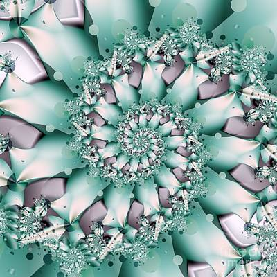Digital Art - Seafoam Spring by Michelle H