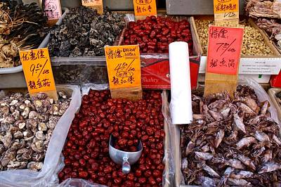 Photograph - Seafood In Chinatown by Flavia Westerwelle