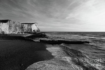 Seaford Photograph - Seaford Head East Sussex England by James Brunker