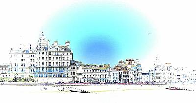 Photograph - Seafront At Eastbourne Sussex by Dorothy Berry-Lound