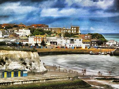 Seafront Broadstairs Kent Art Print