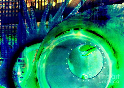 Photograph - Seaglass Invert 11 by Randall Weidner