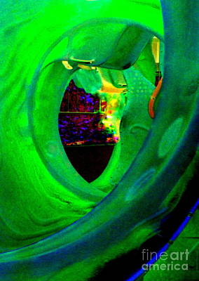 Photograph - Seaglass Invert 13 by Randall Weidner