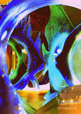 Photograph - Seaglass Invert 5 by Randall Weidner