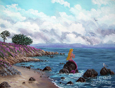 Painting - Seagull Cove by Laura Iverson