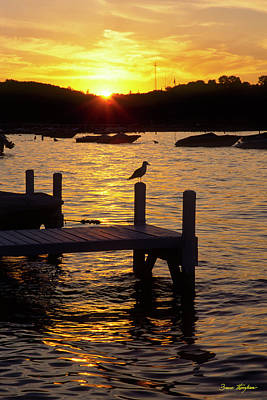 Photograph - Keep Calm - Lake Geneva Wisconsin by Bruce Thompson