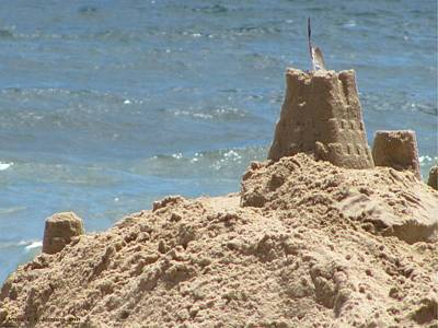 Photograph - Seagull Sandcastle II by Jennie  Richards