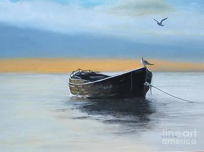 Seagulls Boat Original