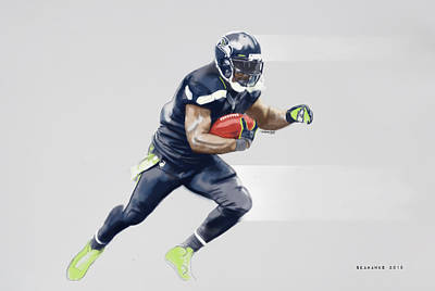 Mixed Media - Seahawks by TortureLord Art