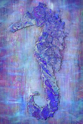 Found Art Mixed Media - Seahoarse 6 by Jack Zulli