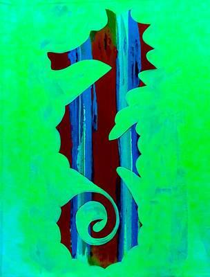 Seahorse Dream 16 Original by Barry Knauff