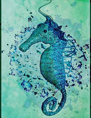 Seahorse Glitterati Original