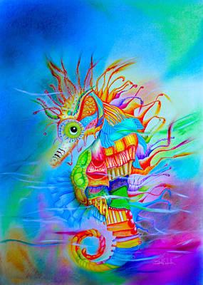 Seahorse Original by Isabel Salvador