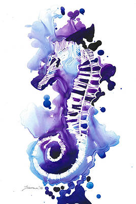 Seahorse Original by Mike Lawrence