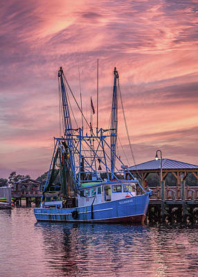 Photograph - The Seahorse Shem Creek by Donnie Whitaker
