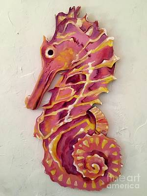 Painting - Seahorse  by Stephanie Broker
