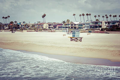 Shack Photograph - Seal Beach California Retro Summer Photo by Paul Velgos