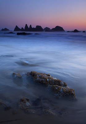 Seal Photograph - Seal Rock Glow by Mike  Dawson