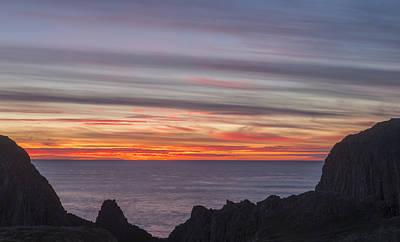 Photograph - Seal Rock Sunset by Loree Johnson
