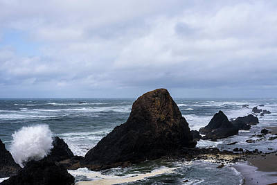 Photograph - Seal Rocks by Robert Potts