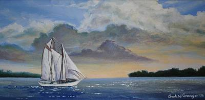 Seamester  Art Print