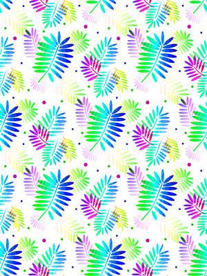 Digital Art - Seamless Tropics by Kathleen Sartoris