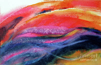 Painting - Seams Of Color by Kathy Braud