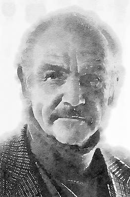 Impressionism Paintings - Sean Connery by John Springfield by John Springfield