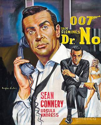 Sean Connery Dr.no James Bond Original by Spiros Soutsos