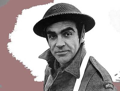 Wine Corks Royalty Free Images - Sean Connery The Longest Day 1962-2015 Royalty-Free Image by David Lee Guss