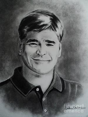 Drawing - Sean Hannity by Carla Carson