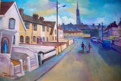Painting - Sean Hueston Place Limerick Ireland by Paul Weerasekera