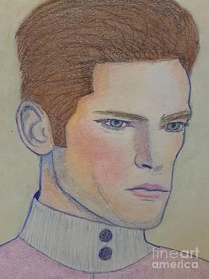 Drawing - Sean by Manuel Matas