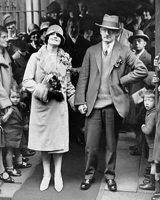 Wedding Photograph - Sean O'casey Wedding by Underwood Archives