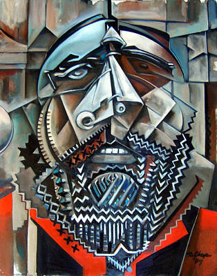 Cubism Painting - Sean Poole by Martel Chapman