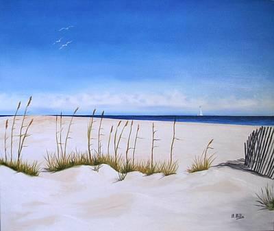 Seaoats Art Print