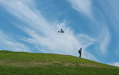 Photograph - Seaplane At Gas Works Park by Tom Cochran