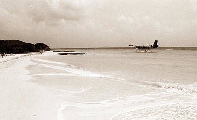 Photograph - Seaplane by Terence Davis