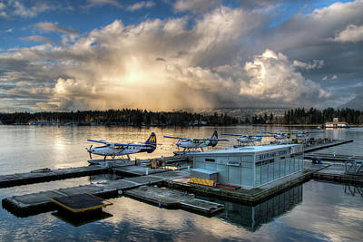 Photograph - Seaplane Terminal by Ross G Strachan